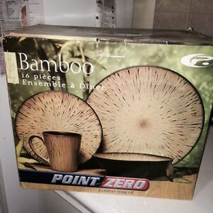Bamboo Dinnerware set London Ontario image 1