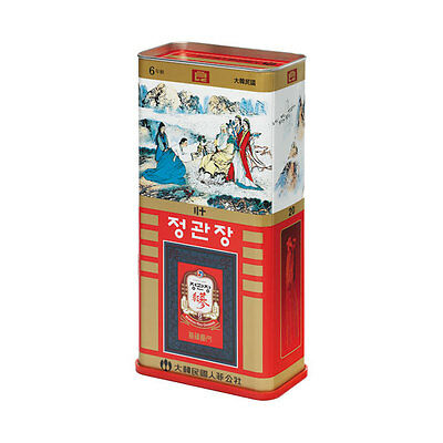 CHEONGKWANJANG  6YR Old Korean Red Ginseng GOOD Grade Canned 600g 20 Roots 良蔘