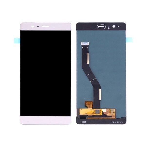 GLS: DISPLAY LCD+TOUCH SCREEN ORIGINALE per HUAWEI P9 PLUS BIANCO VIE-L09 NUOVO