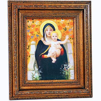 BIBEL GEMÄLDE, *MADONNA mit KIND MALEREI Hl. MARIA ÖLBILD »HOLY MARY with JESUS«