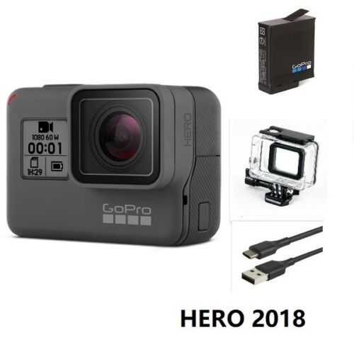 Refurbished GoPro HERO 2018 Waterproof Action HD Camera Touch Screen Camcorder