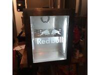 Stainless steel red bull mini fridge