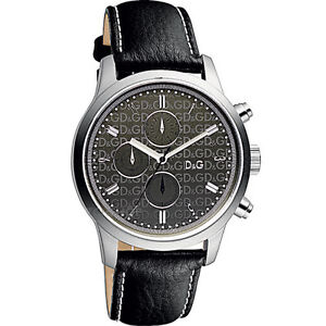 Authentic DOLCE & GABBANA watch men all stainless steel dw0751