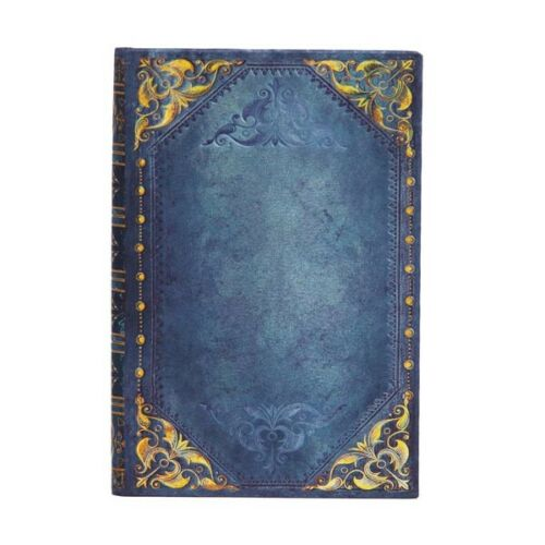 "Paperblanks ADDRESS BOOK ""Peacock Punk"" Mini 3¾"" x 5½"" Blue"