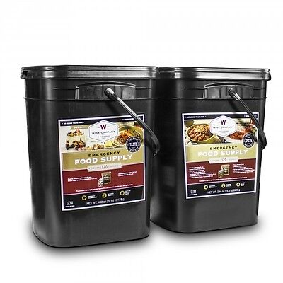 WISE Food ~ 240 Serving Survival Food Storage ~ 2 Month for 2 Adults