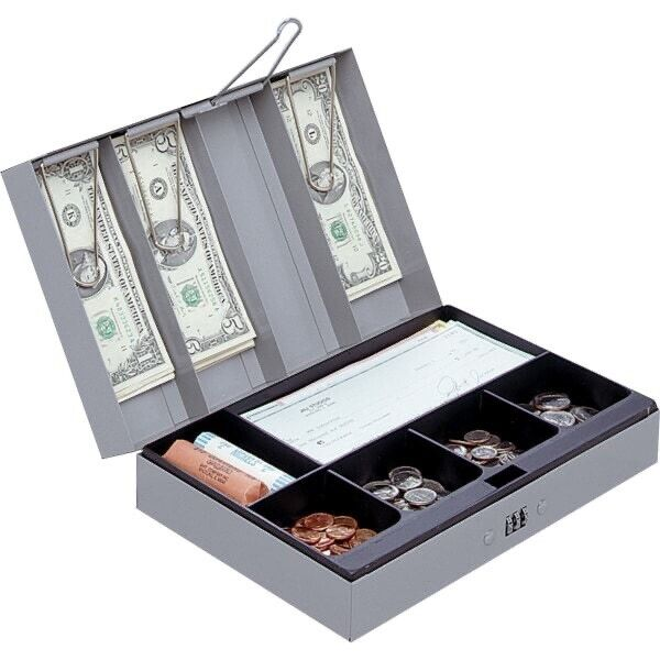 Sparco Steel Combination Lock Cash Box 15508
