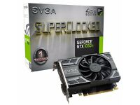 Geforce 1050 Ti 4GB SUPERCLOCKED GRAPHICS CARD! BRAND NEW FACTORY SEALED