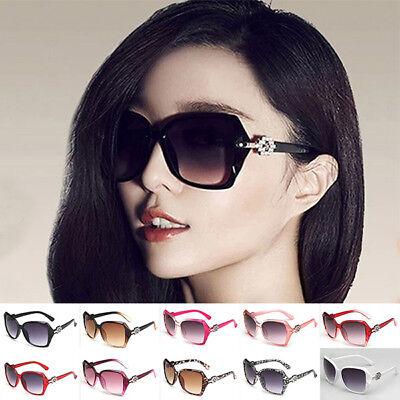 New Women Ladies Oversized  Retro Shades Large Frame Sunglasses Designer Eyewear