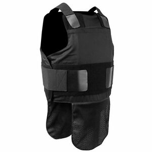 SecPro Concealable Bulletproof Vest made with Kevlar NIJ 06 Level IIIA Large