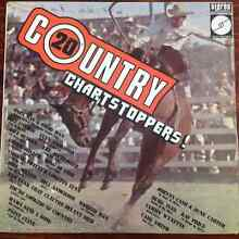 20 country chartstoppers vinyl Merriwa Wanneroo Area Preview