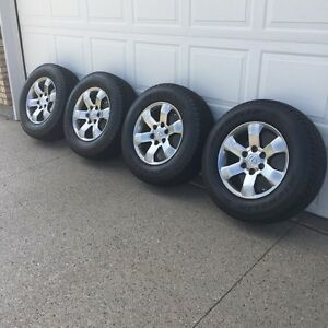 "Lexus Rims & Tires   17""  P-265/R17  Set of 4"
