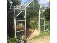 Greenhouse 10x8.5 for sale! With tables £75