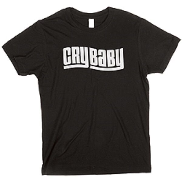DUNLOP XL MENS CRYBABY Shirt Logo Black DSD20-MTS-XL