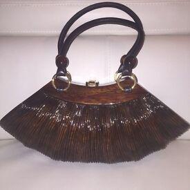 Collette Rocio Handmade Wooden Bag