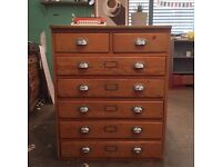 Plan Chest / chest of drawers