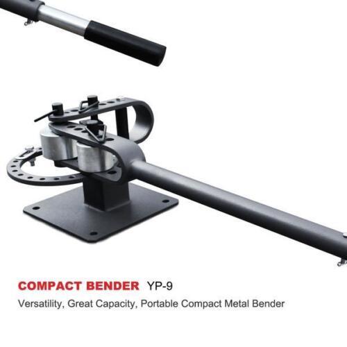 KAKA Industrial YP-9 Bench-Top Metal Bender,Compact Metal Bender with 7 Dies