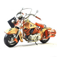 Vintage Iron Indian Motorcycle Model - 50% LOWER THAN STORE!