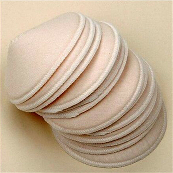 5 pair Reusable Washable Cotton Nursing Bra Anti-Spill Breast Pads Breastfeeding
