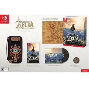 NEW SWITCH Legend of Zelda BOW ED. 136170031 NINTENDO VIDEO GAMES BREATH OF THE WILD SPECIAL EDITION