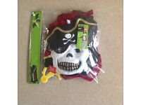 Halloween pirate skeleton outfit
