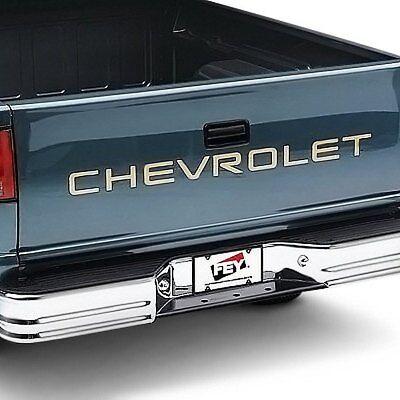 For Ford Ranger 83-04 Bumper FEY Universal Series Surestep Full Width Chrome