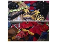bundle of boys dressing up age 5- collection wd23 2lx / delivery / oos (sorry no holding)