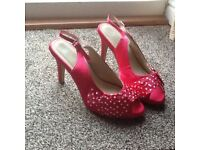 Pink ladies shoes size 6