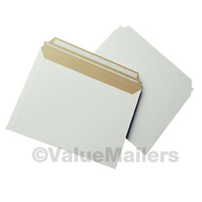 250 - 12.5x9.5 Self Seal Photo Mailers Stay Flats