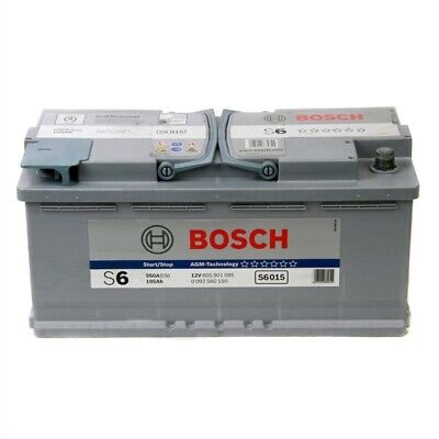 S5A15 AGM 020 Car Battery 3 Years Warranty 105Ah 920cca 12V Electrical By Bosch
