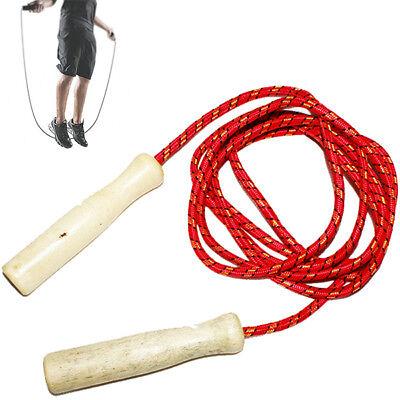 Corda Per Saltare Salto Fitness Allenamento Sport Gioco Fune 1.9 Mt Colori 225