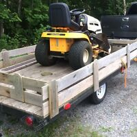 Looking to trade trailer plus money for tandem trailer
