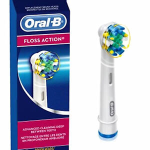 ORAL-B-BRAUN-FLOSS-ACTION-REPLACEMENT-TOOTHBRUSH-INDIVIDUAL-HEADS-SEALED-NEW