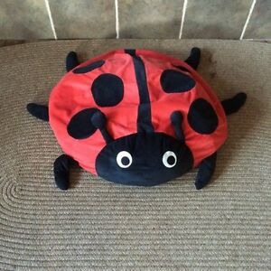 Slouchy pillow or pet bed. Lady bug