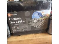 2 portable gas cookers