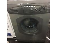 Silver and grey Hotpoint washer£60