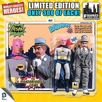 Pink Cowl BATMAN vs MAD HATTER 1966 TV Series 8