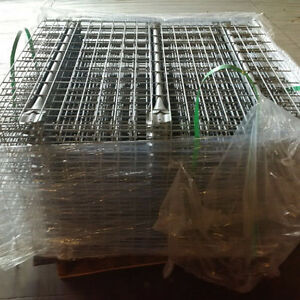 New wire mesh decks for pallet rack in stock ready for pickup