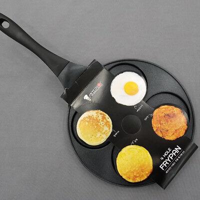"Chefline Multi Die-Casting purpose casting egg 4 Hole fry pan 27Cm 10.6"""