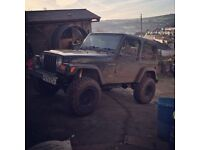jeep wrangler TJ sahara 4.0 big lift