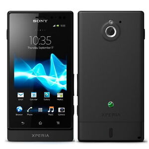 Brand New Sony Xperia Sola MT27i Phone Android 8GB 5MP 3G WiFi Unlocked Black