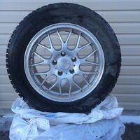 205/60 R16 Winter Studded Tires for sales (with rims)