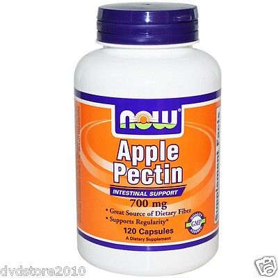 VITAMINA NOW FOODS Apple Pectin 700 mg 120 capsule Pectina di mele NOW6425