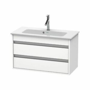 Duravit KT6453 Ketho Wall Mounted Compact Vanity Unit White Matt