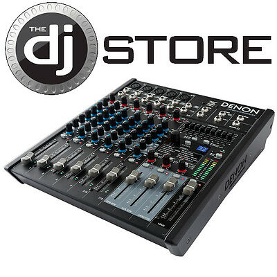 Denon Professional DN-408X 8-Channel 2-Bus Audio Tabletop Mixer (NEW)
