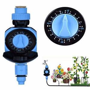 Rotary Knob Automatic Solenoid Valve Water Timer Garden Greenhous Baulkham Hills The Hills District Preview
