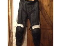 Leather Motorbike Trousers.