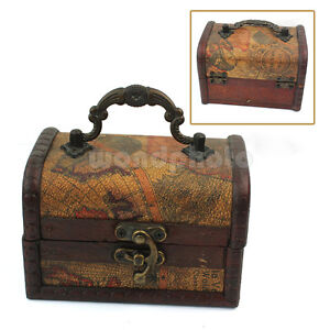 Decorative-Gift-Vintage-Gracious-Wooden-Jewelry-Box-Storage-Organizer-Case-lu5t