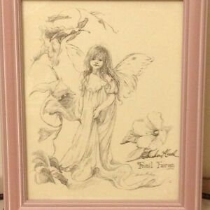 Signed Sandra Kuck Fossil Fairies Sketches on Paper London Ontario image 2