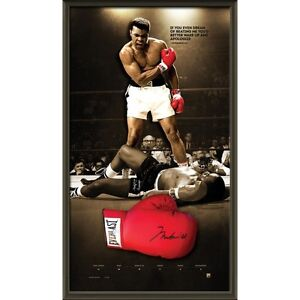 Muhammad Ali Hand Signed Everlast Glove with