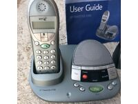 BT Freestyle 2500 Cordless Phone & answering machine + 2 stations